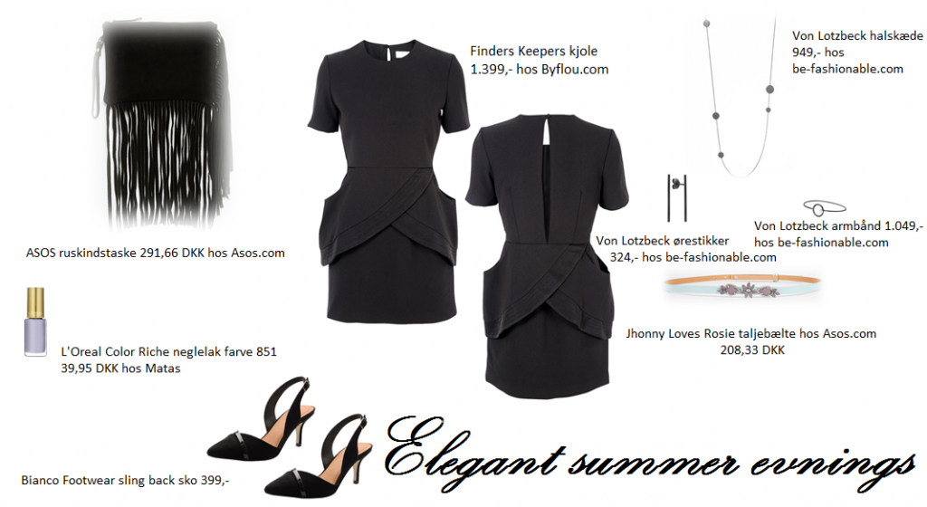 Elegant summer evenings