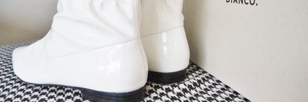 New in: Bianco Low Pointy Ancle Boots