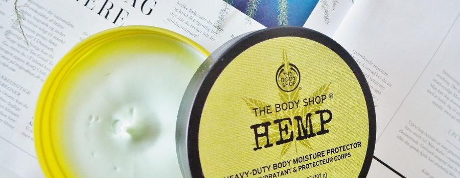 Sunday treat: The Body Shop Hemp Body Butter M/K
