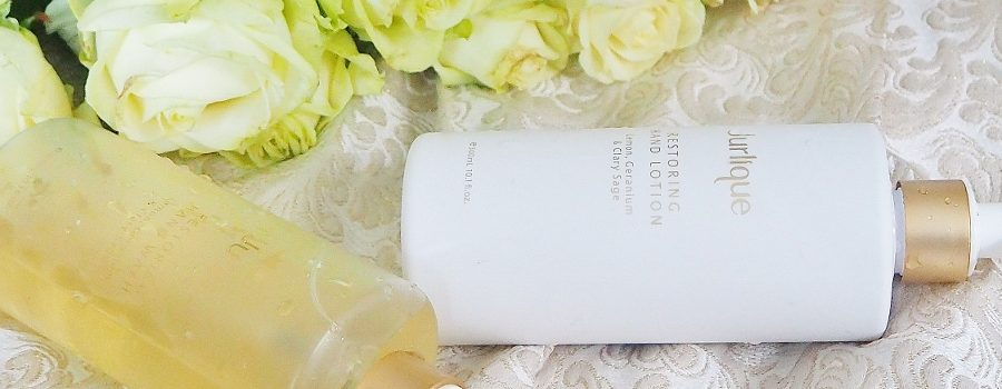 Sunday treat: Jurlique Restoring Hand Lotion & Wash